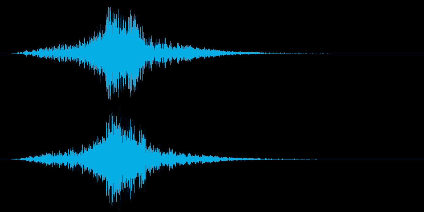映画に合う効果音05の再生済みの波形