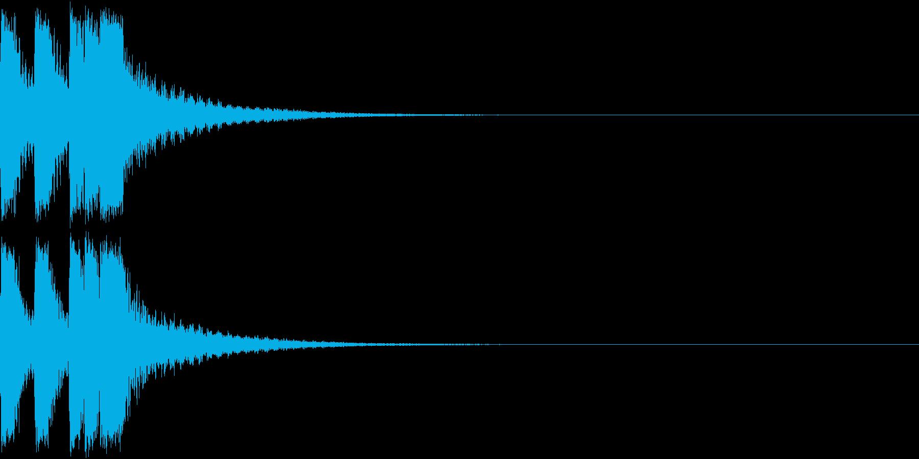 ファンファーレ 当たり 正解 合格 09の再生済みの波形