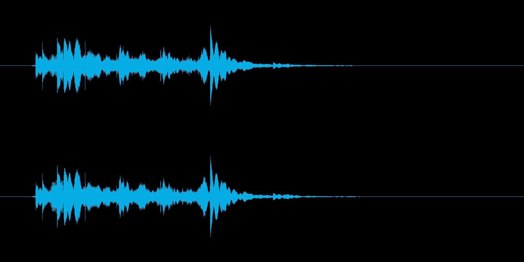 アイテム(1UPや少しレアなコインなど…の再生済みの波形