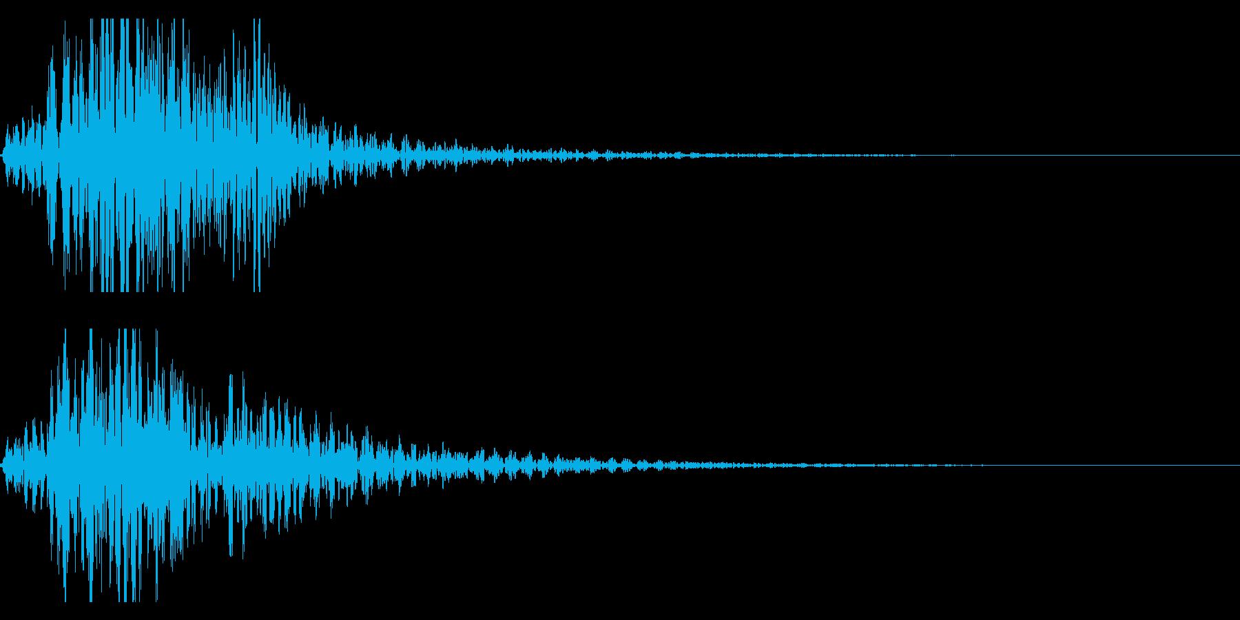 太鼓 和太鼓のフレーズ ジングル ロゴ5の再生済みの波形