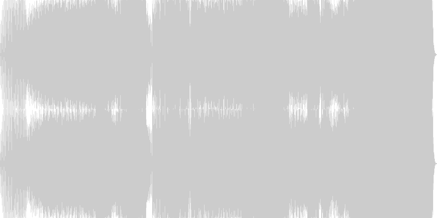 パワフルな近未来的トランスEDMの未再生の波形