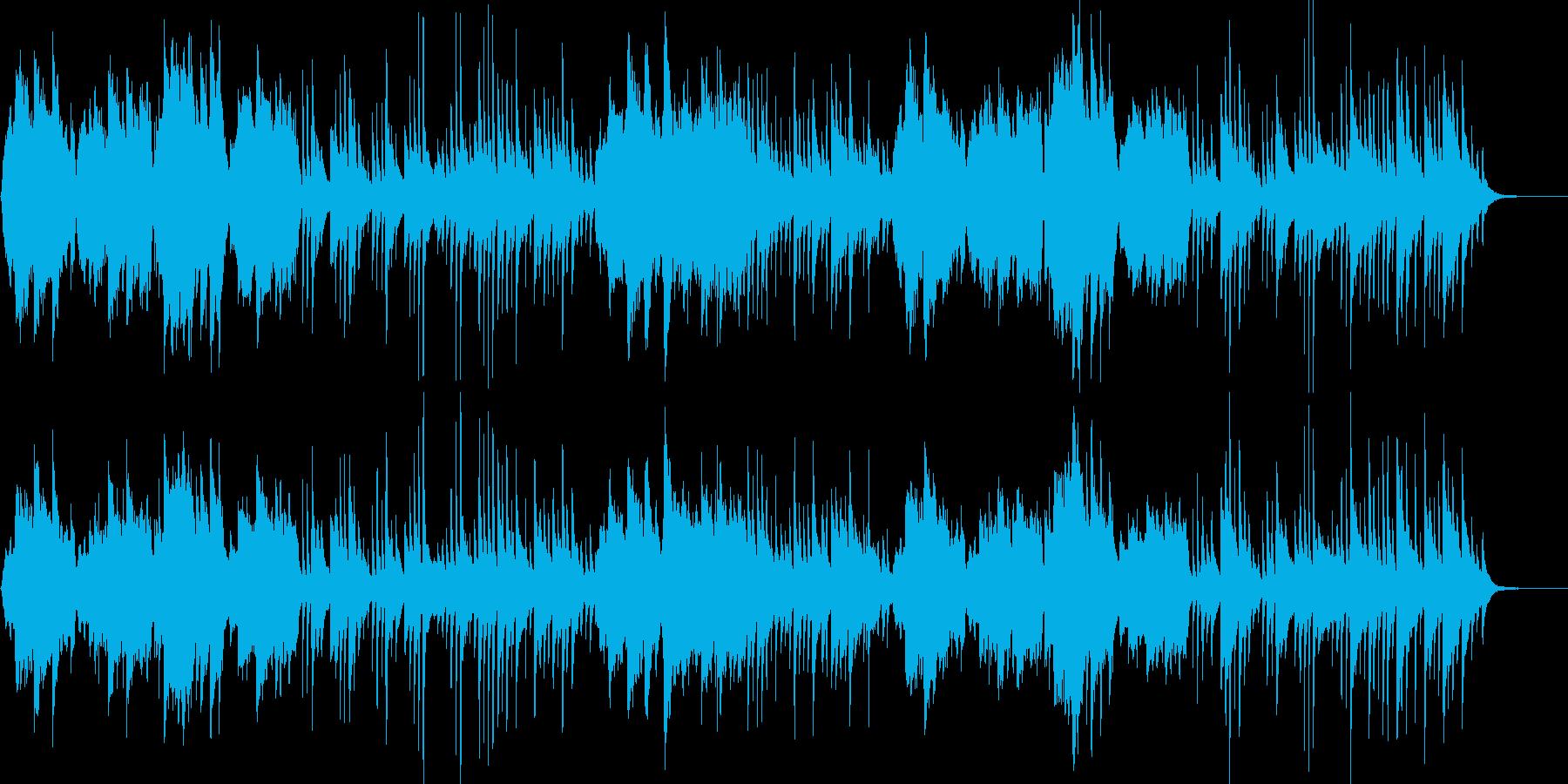 古き良き日本のイメージの再生済みの波形
