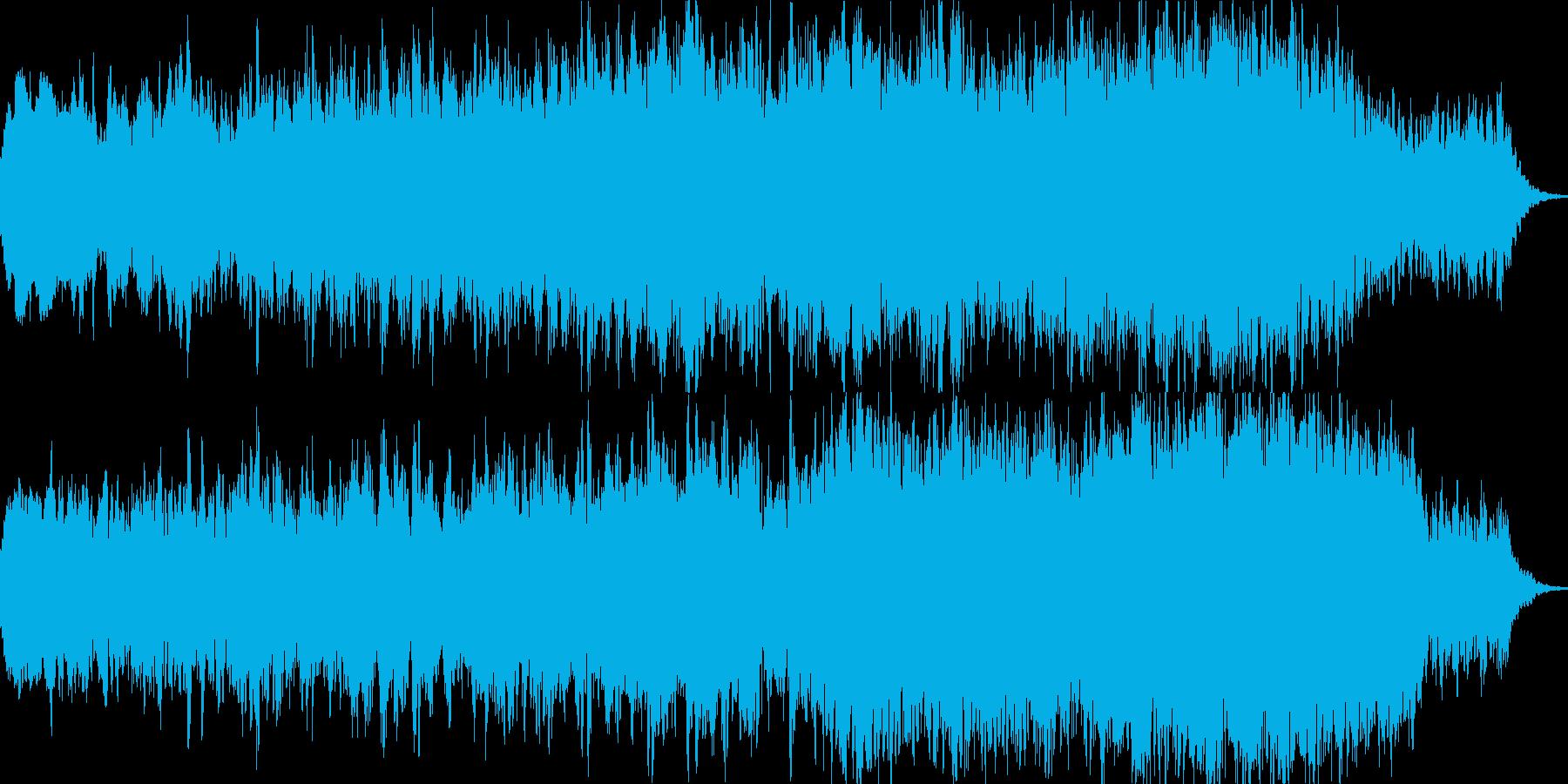 暗くて恐ろしい6分のダークアンビエントの再生済みの波形