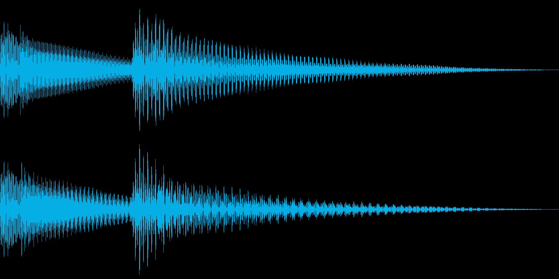 ピコン (アラート・起動音・正解音)の再生済みの波形