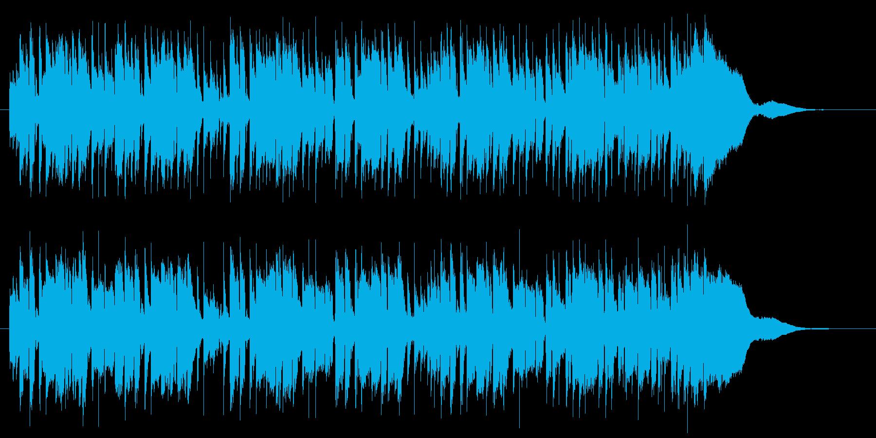 軽快で軽やかなピアノポップジングルの再生済みの波形