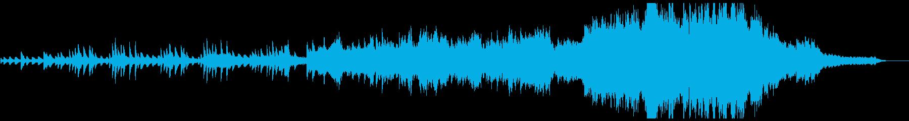 目覚め、芽吹き〜感動のオープニングの再生済みの波形