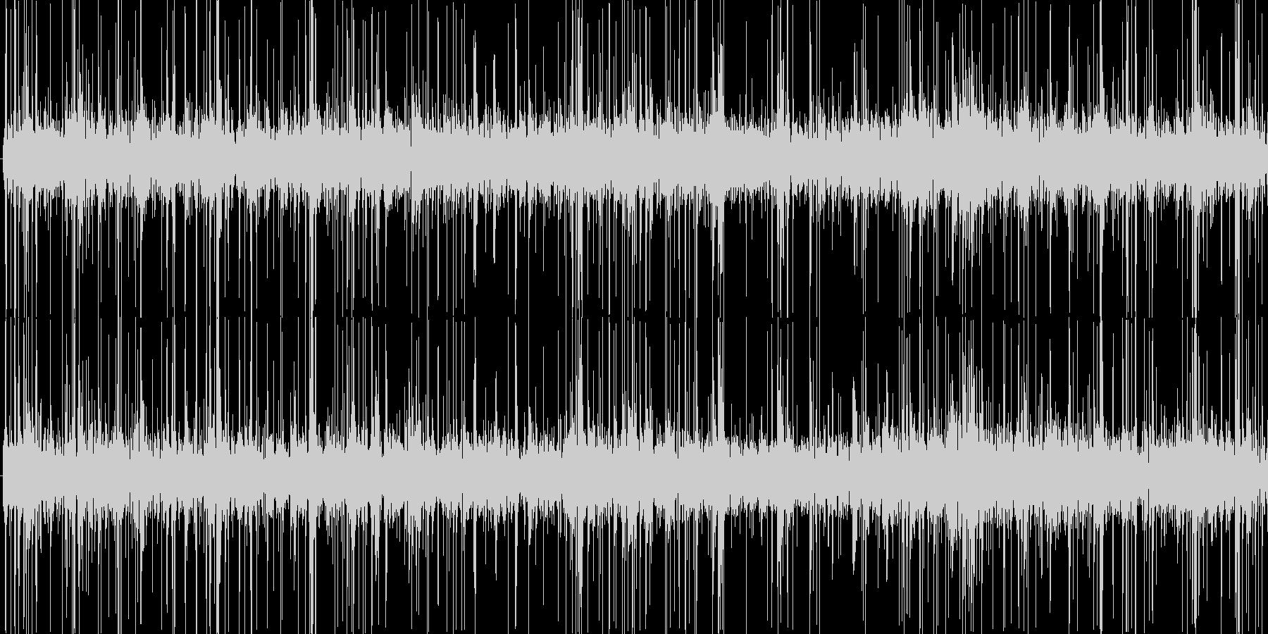 (パチパチ)火が燃える音の未再生の波形