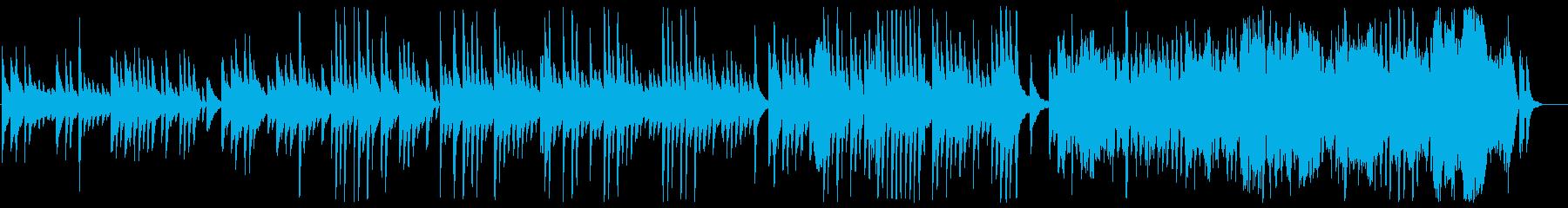 美しく優しいピアノサウンドの再生済みの波形