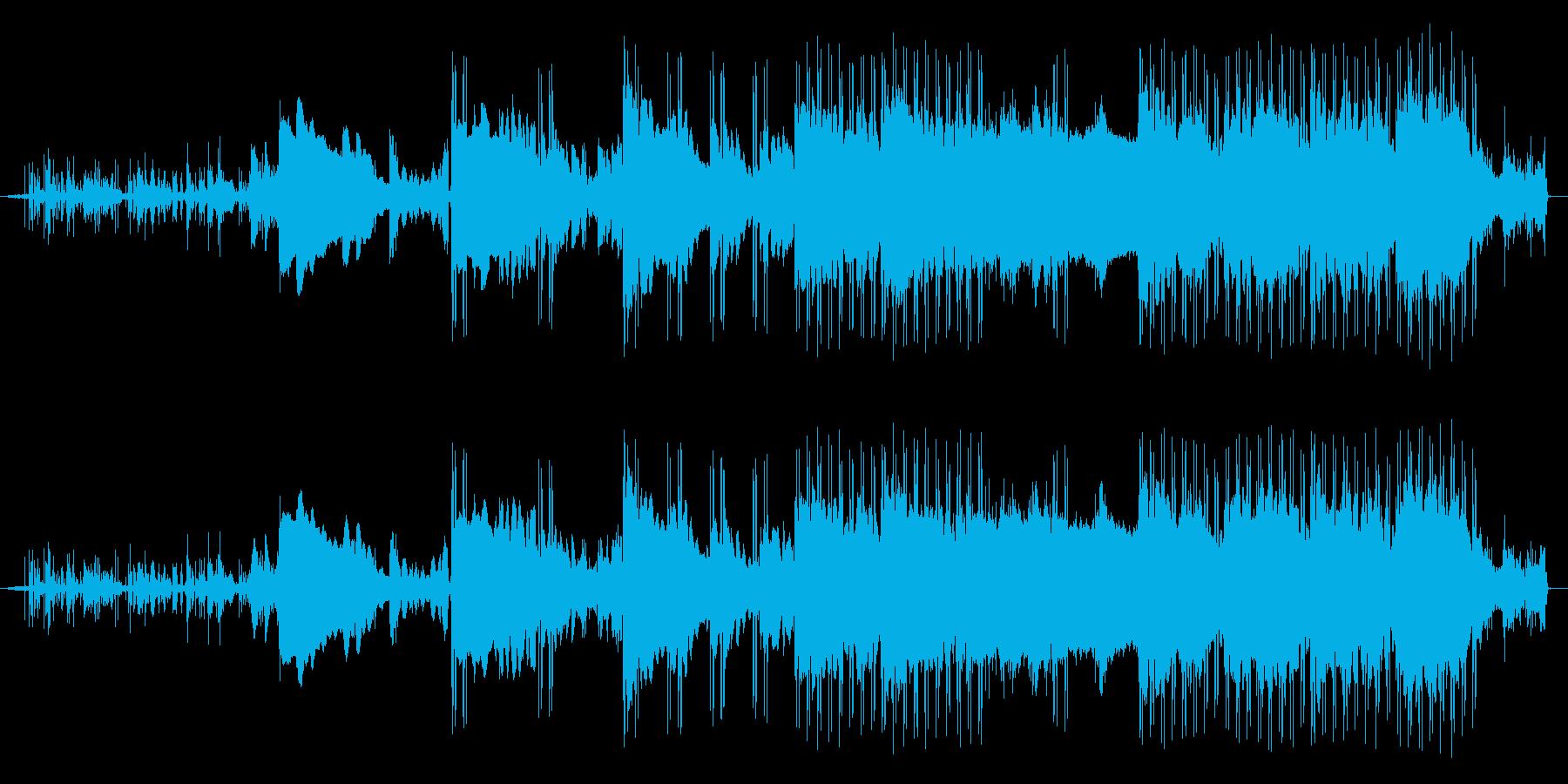 アンビエントな雰囲気が特徴の曲ですの再生済みの波形