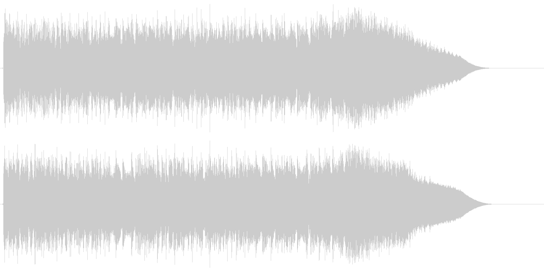 メタル イントロ ジングル 生演奏の未再生の波形