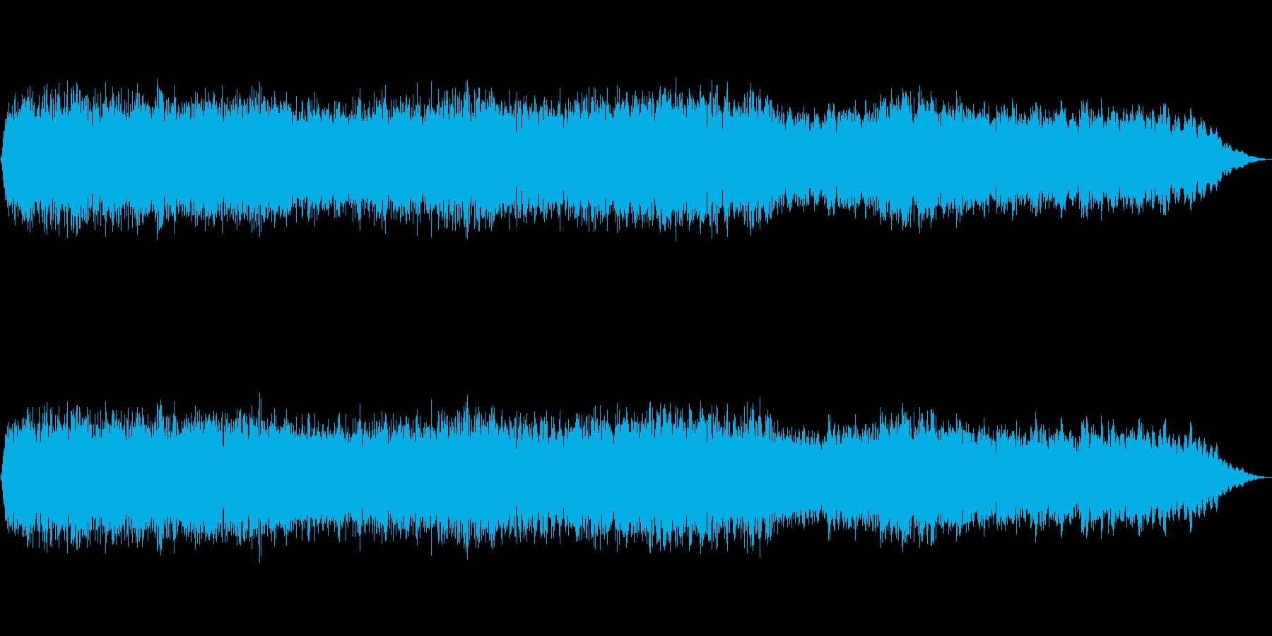 壮大な持続音の再生済みの波形