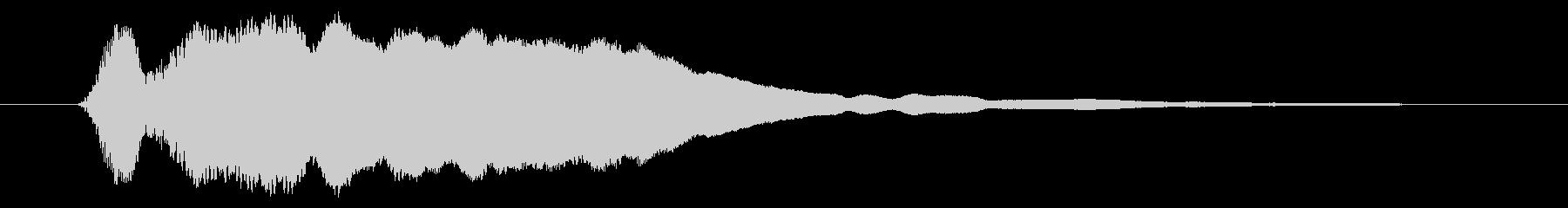 ピィーー!横笛1ショート リバーブ有の未再生の波形