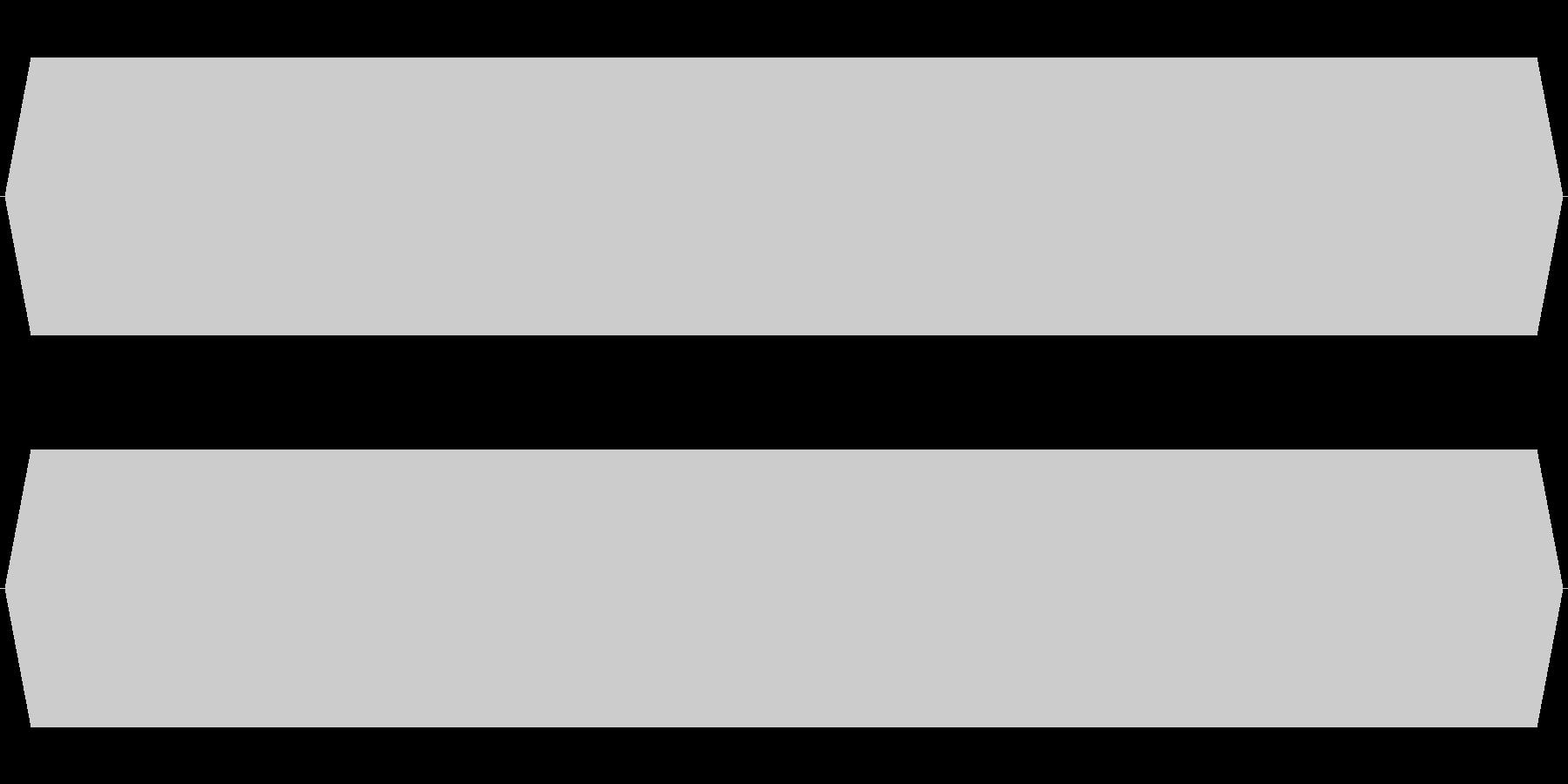 モスキート音 18kHzの未再生の波形