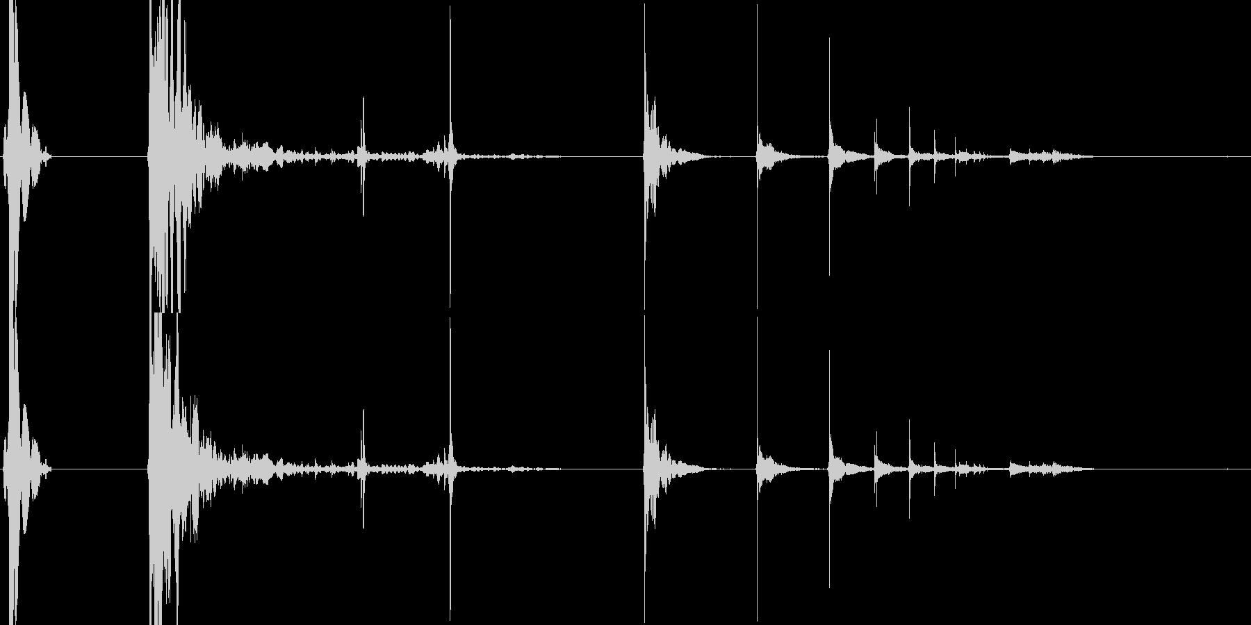 179_ガン2(銃)の未再生の波形