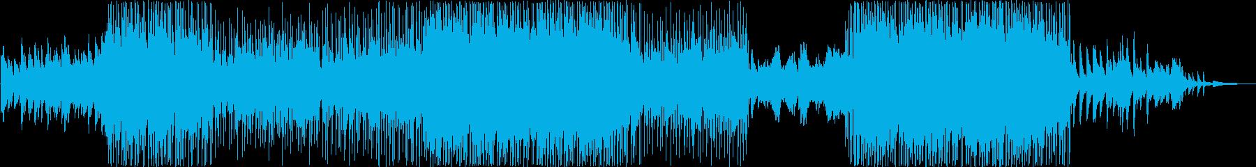 【メロディ抜き】切なく感動的な映像・番組の再生済みの波形