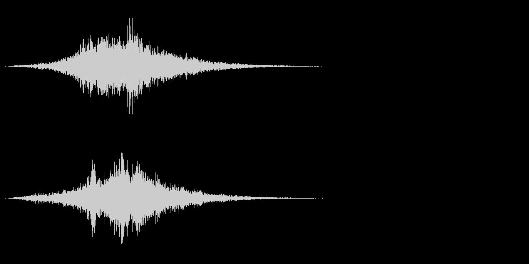 SF 移動音 7の未再生の波形
