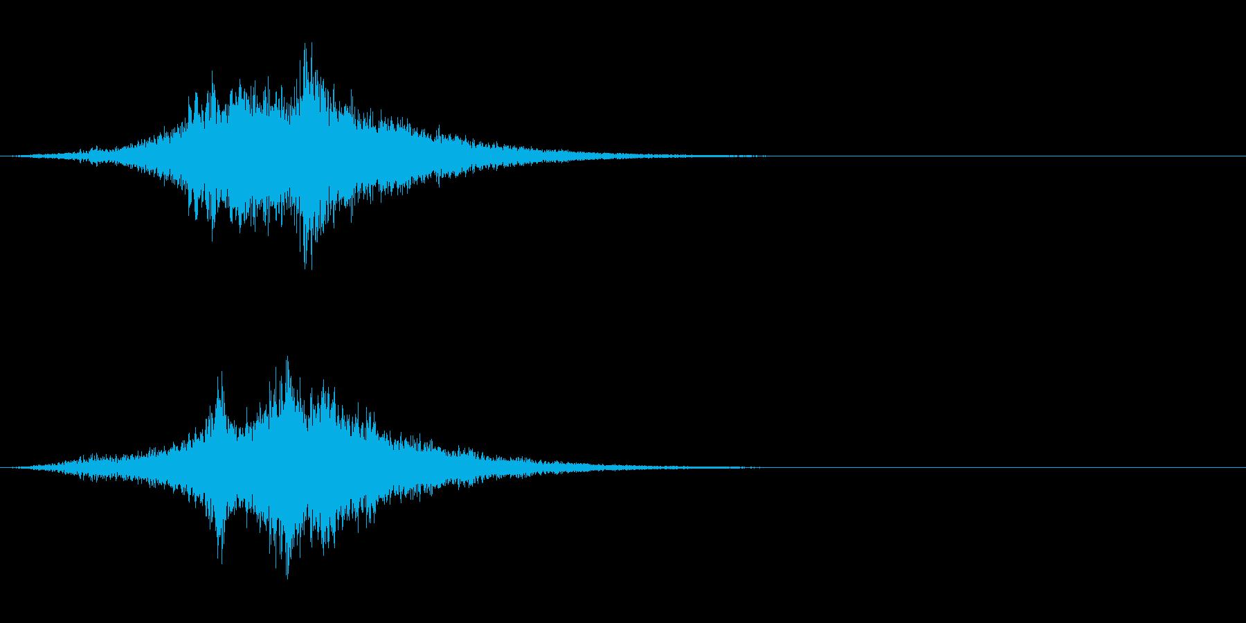 SF 移動音 7の再生済みの波形