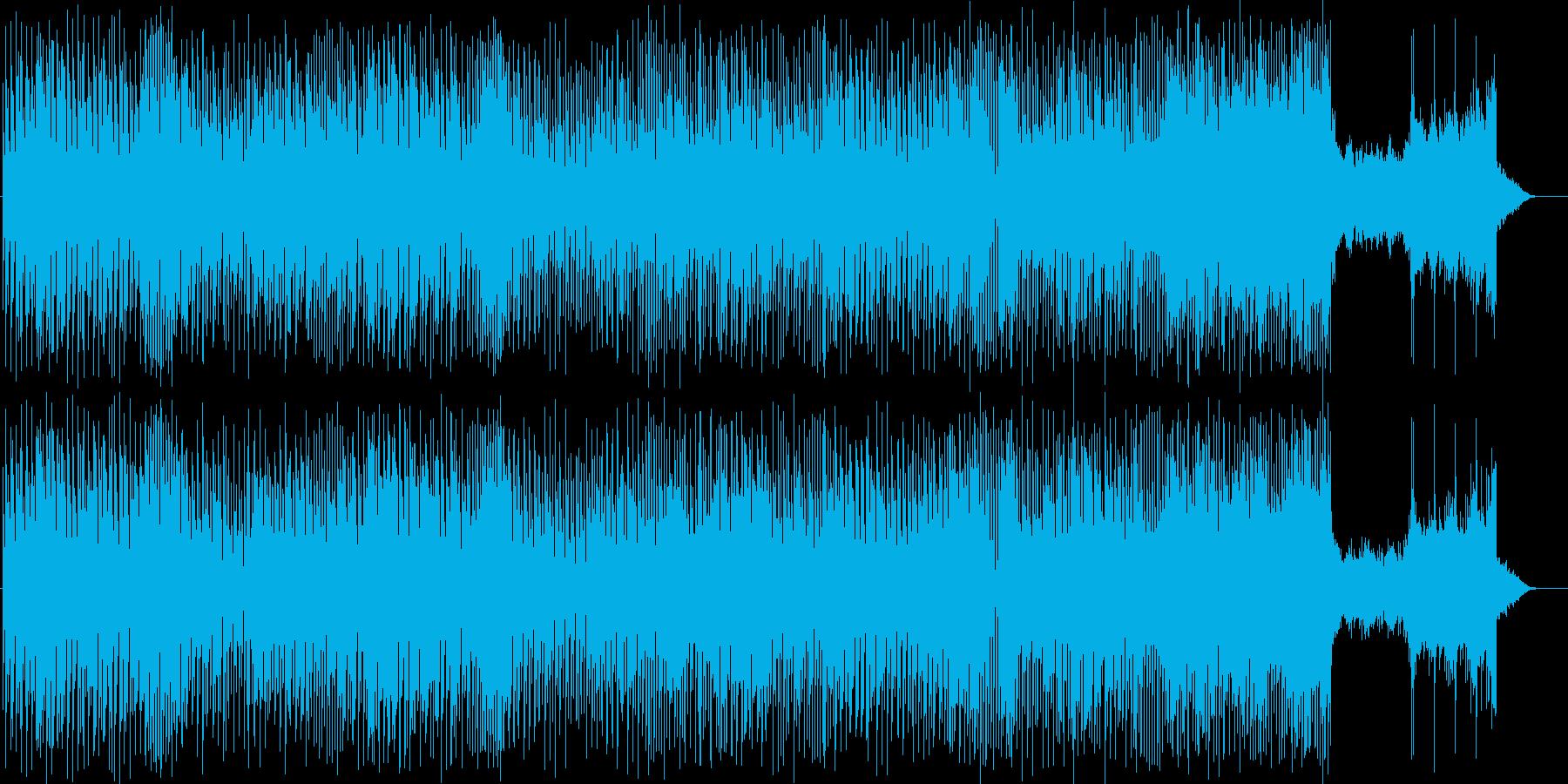 ノスタルジック感があり、風情を感じる曲の再生済みの波形