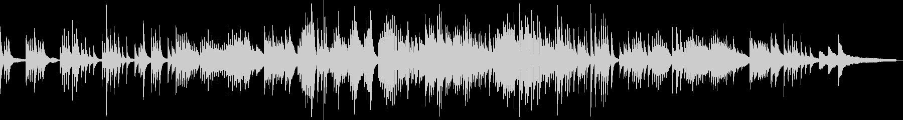 わらべ歌のような和風音楽-ピアノソロの未再生の波形