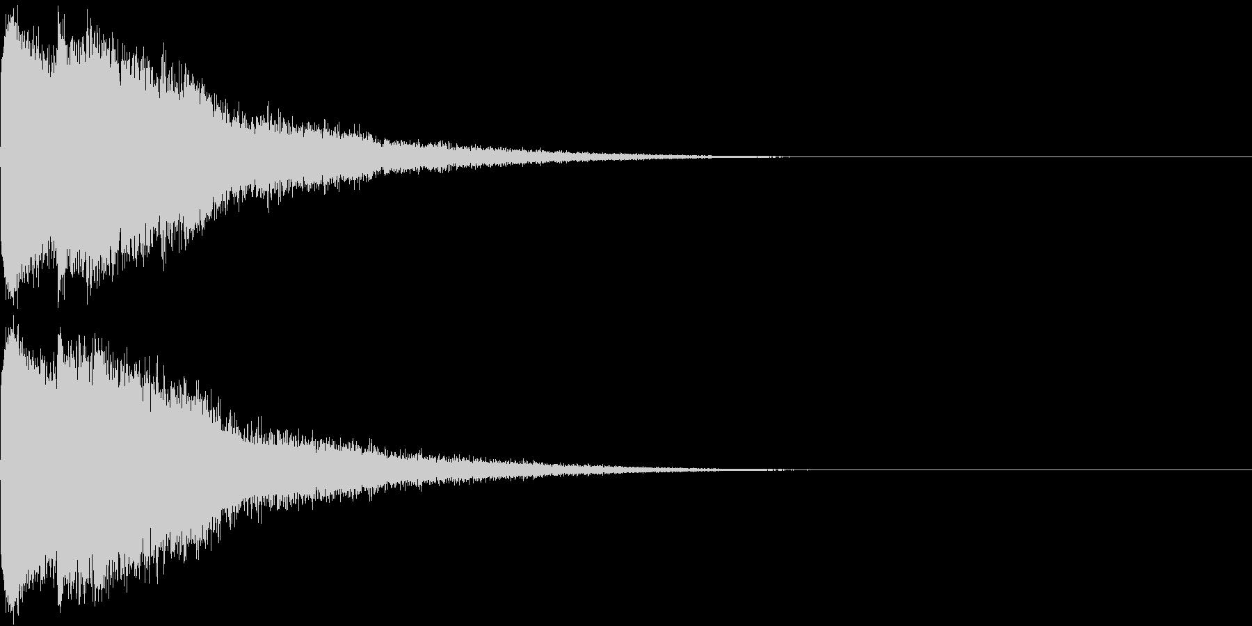 ピコン ピコ チャリン キュイン 5の未再生の波形