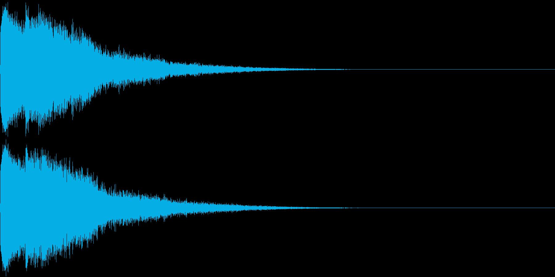 ピコン ピコ チャリン キュイン 5の再生済みの波形