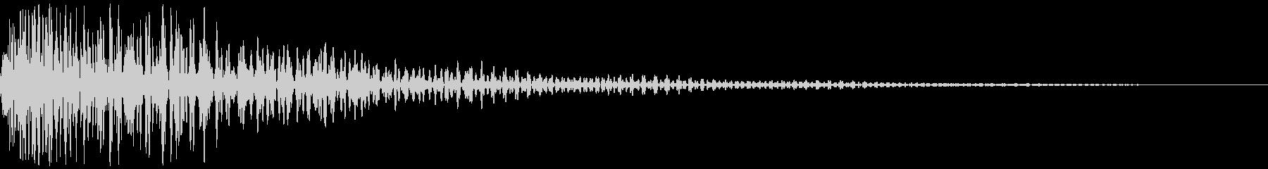 コミカルな衝突音 ボヨーンと弾む音_01の未再生の波形