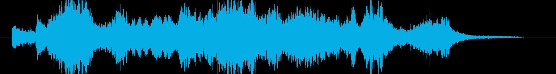 ピアノとバイオリンの調べ 30秒の再生済みの波形