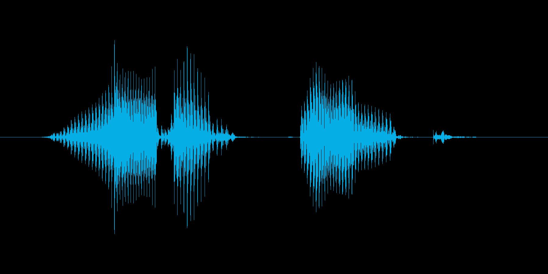 レベル8(えいと)の再生済みの波形