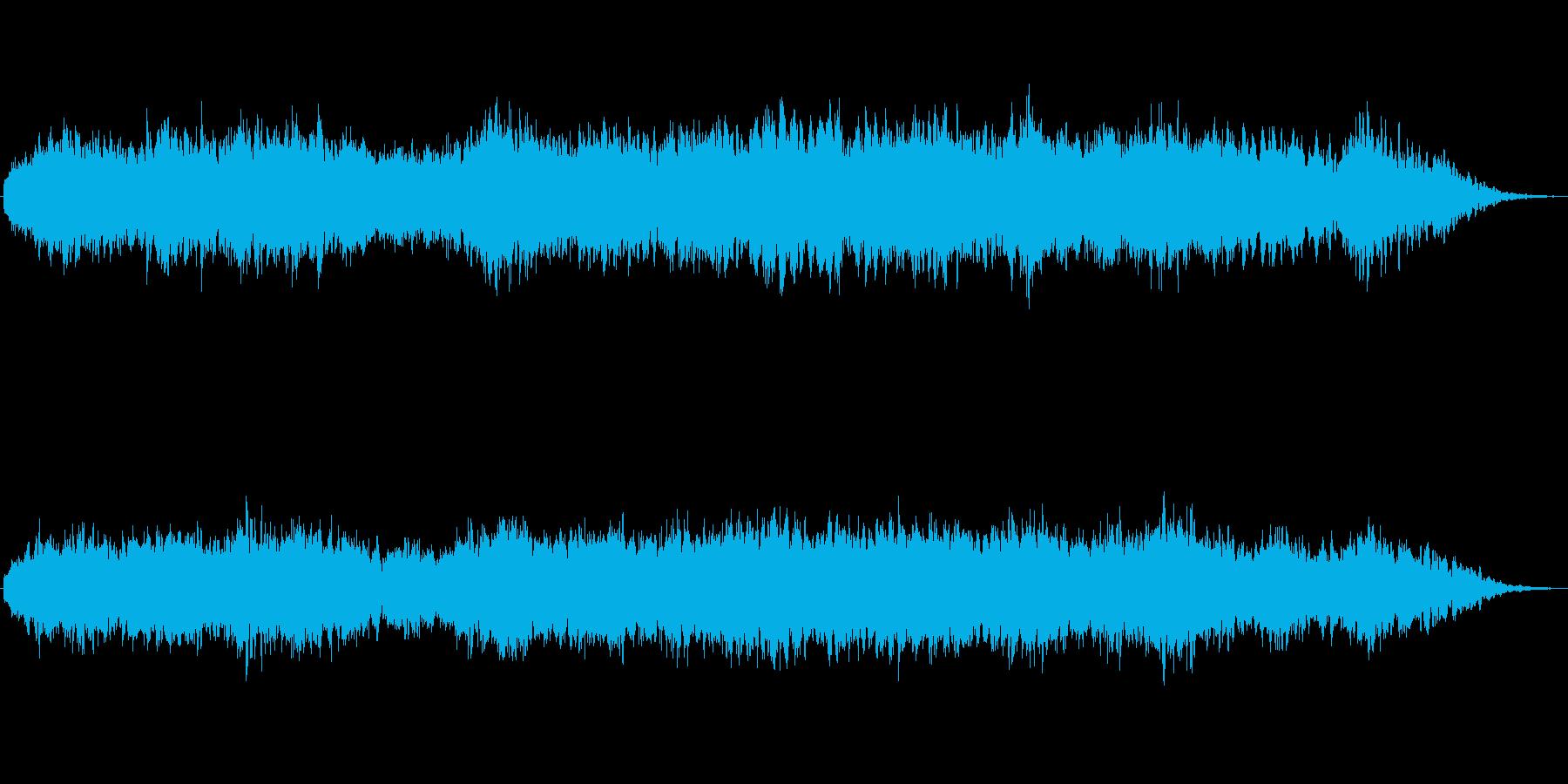 フワフワした浮遊感が印象的なジングルの再生済みの波形