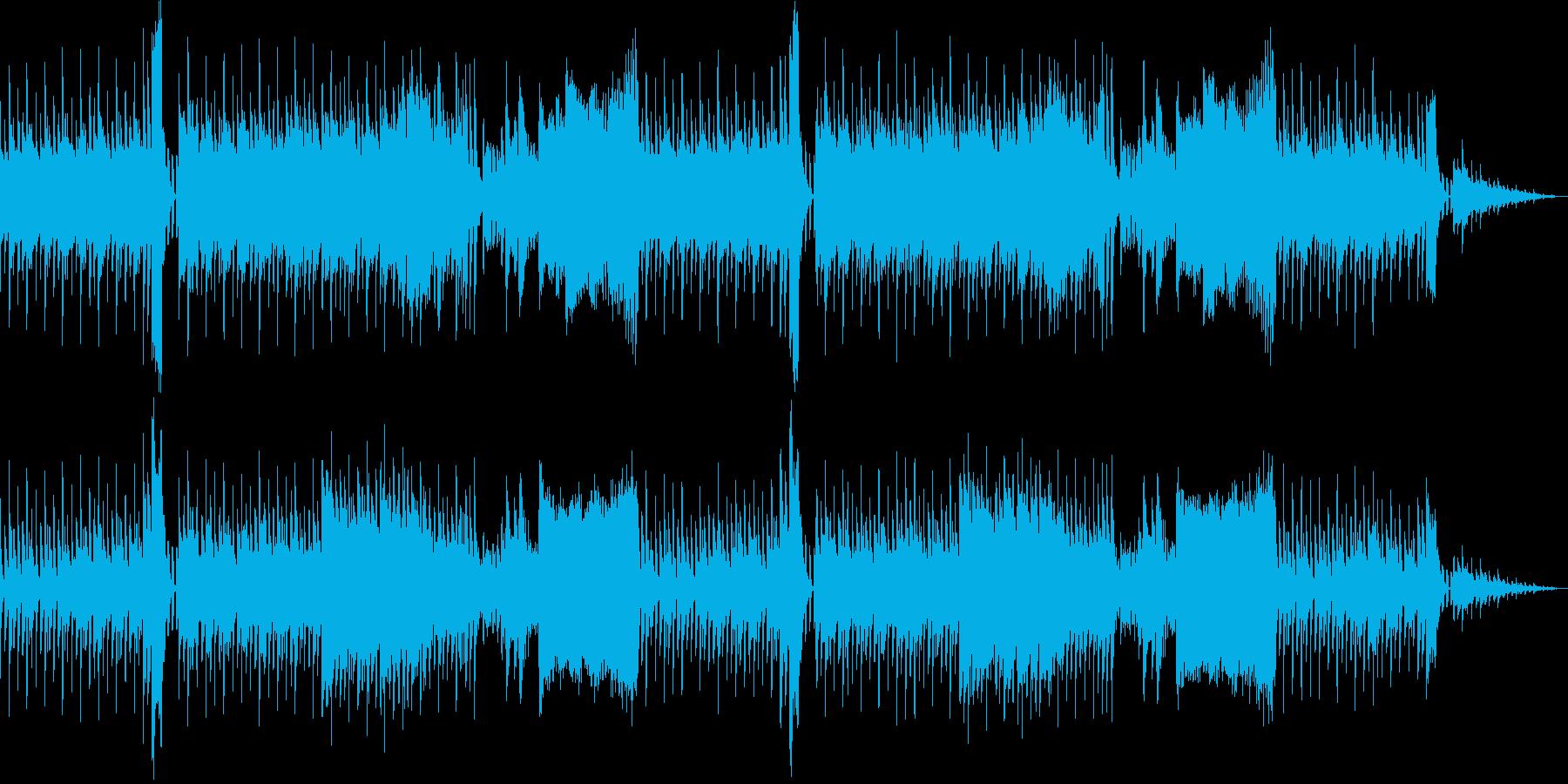 レトロゲーム風(緊張感のあるイベント)の再生済みの波形