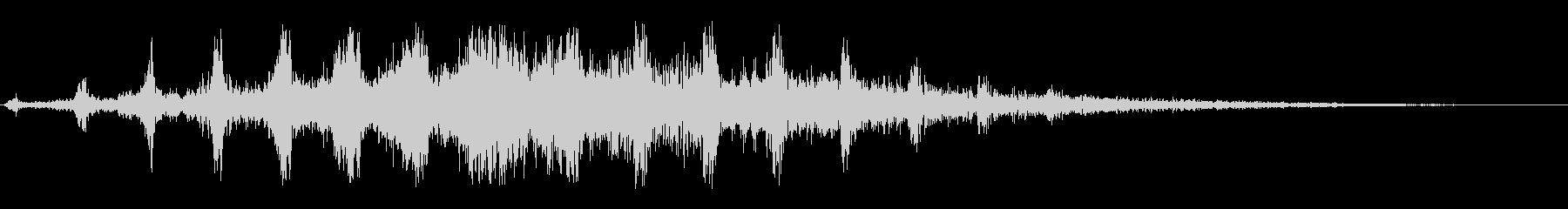 キキキ(鳴き声系の音)の未再生の波形