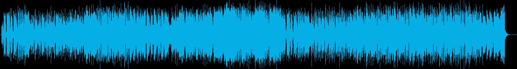 ほのぼの感のシンセサイザーギターポップの再生済みの波形