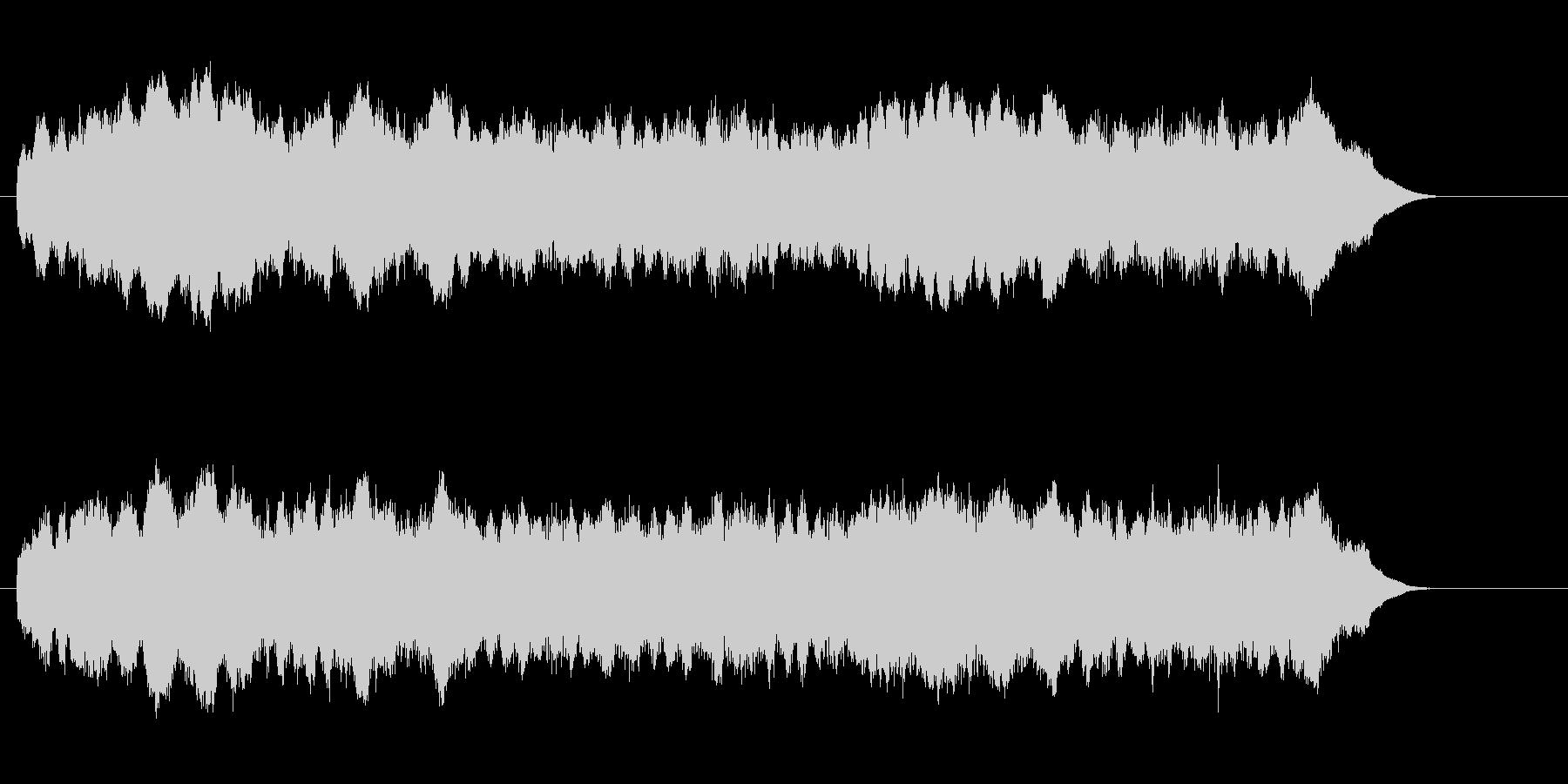 ジリリリリリ(目覚ましの音)の未再生の波形
