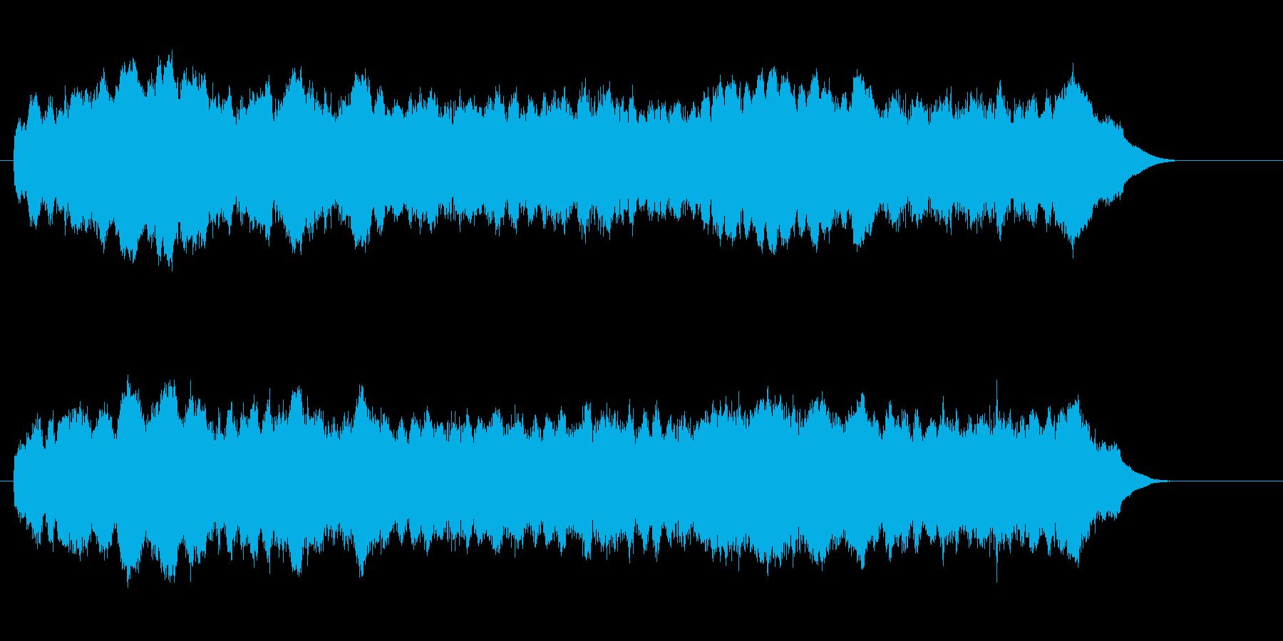 ジリリリリリ(目覚ましの音)の再生済みの波形