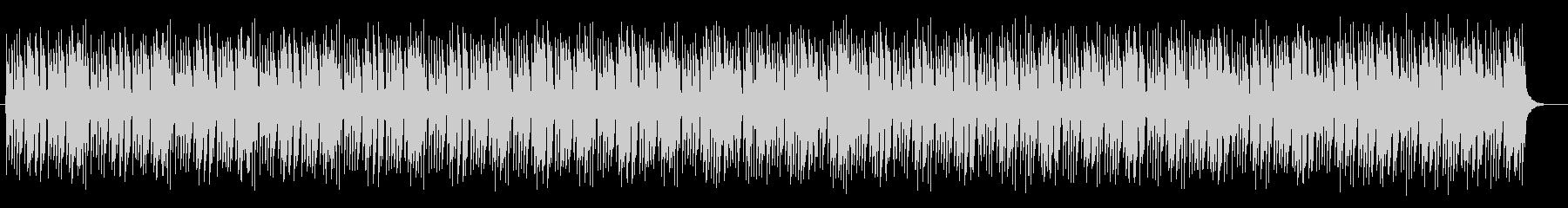 軽やかで奇麗なシンセサイザーサウンドの未再生の波形