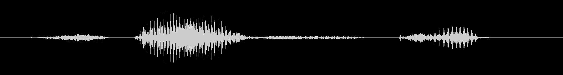 ステージ1(いち)の未再生の波形