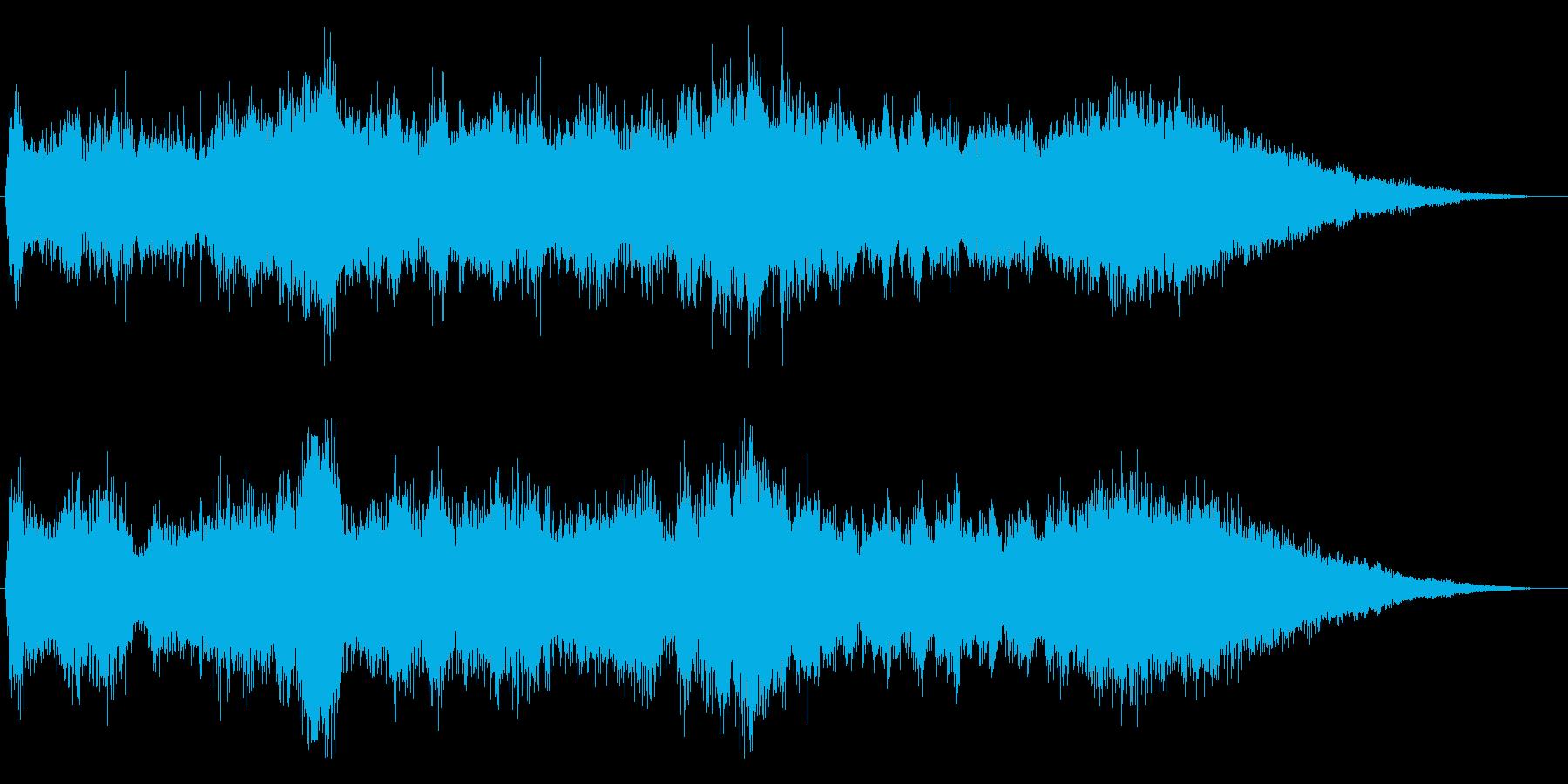 CM企業VPテレビ用高級感オーケストラの再生済みの波形