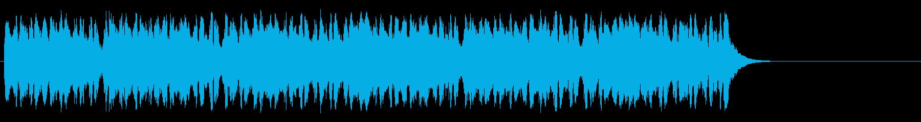 懐かしブギウギ和風ポップ(サビ)の再生済みの波形