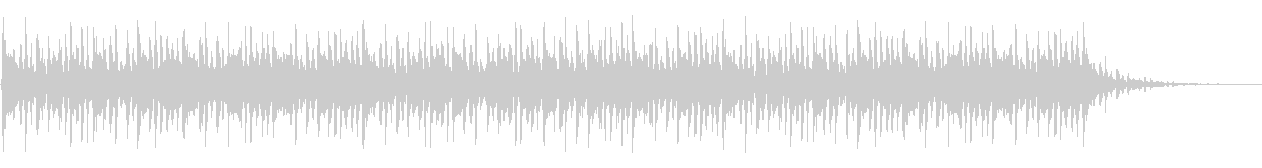 ショートBGM:ファンク-Bの未再生の波形