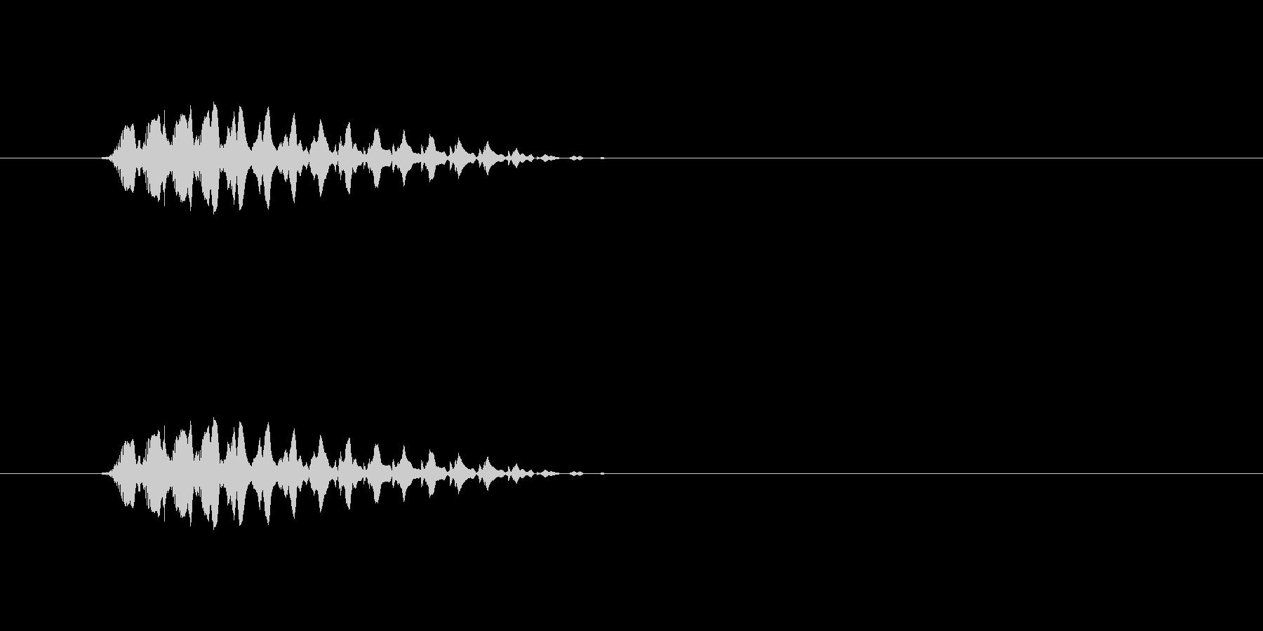 【ショートブリッジ12-1】の未再生の波形