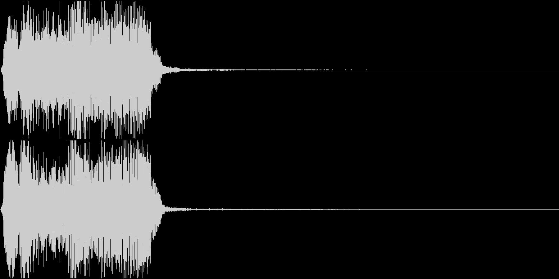 トランペット ファンファーレ 定番 25の未再生の波形