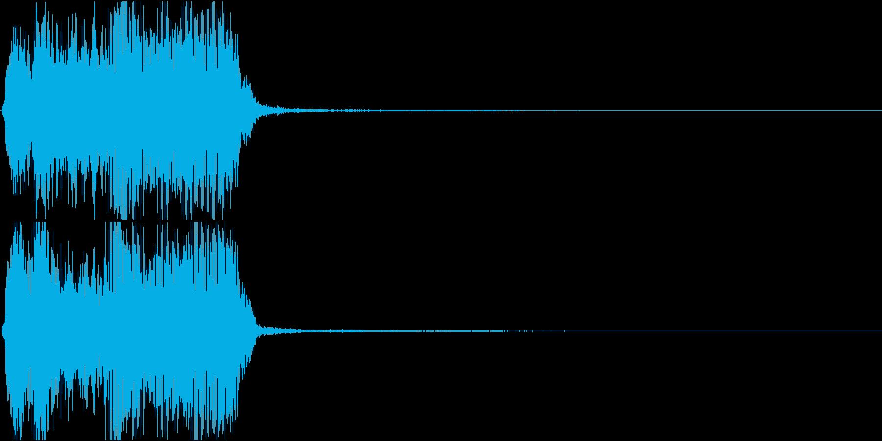 トランペット ファンファーレ 定番 25の再生済みの波形