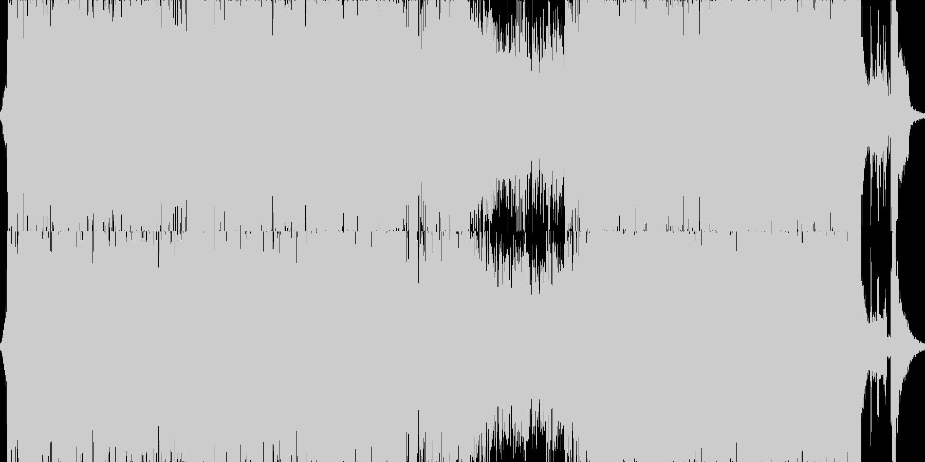 サムライファイター戦闘曲Ⅰの未再生の波形