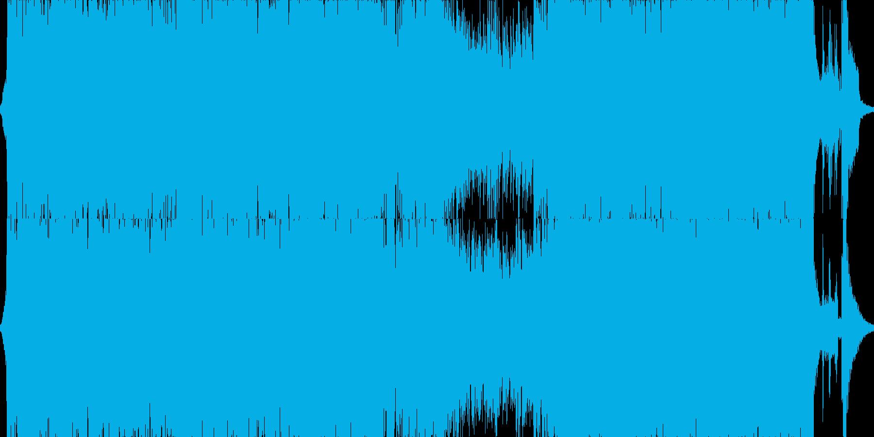 サムライファイター戦闘曲Ⅰの再生済みの波形