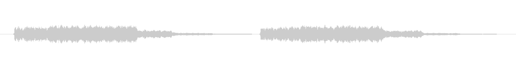 プープーの未再生の波形