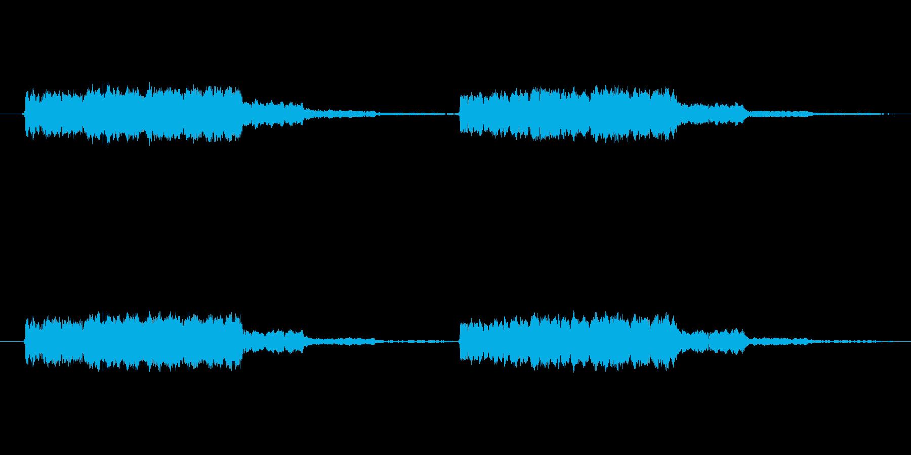 プープーの再生済みの波形