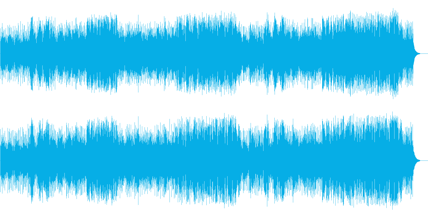 散歩する穏やかなポップス(フルサイズ)の再生済みの波形