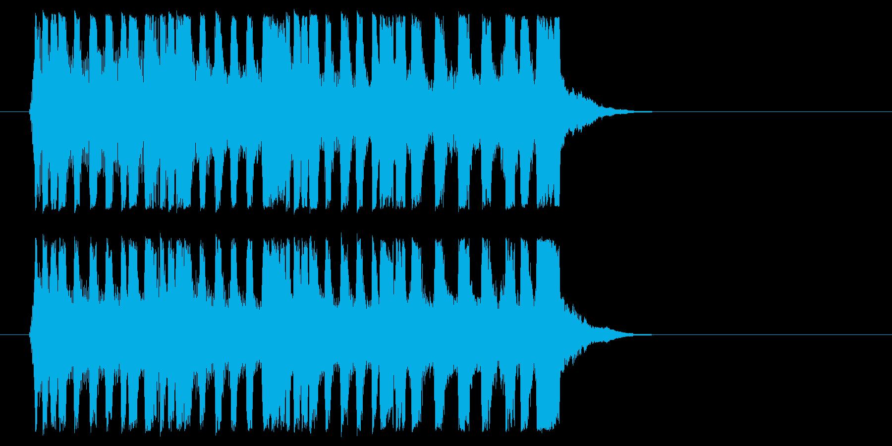 挑戦的 場面転換 オープニング 登場の再生済みの波形