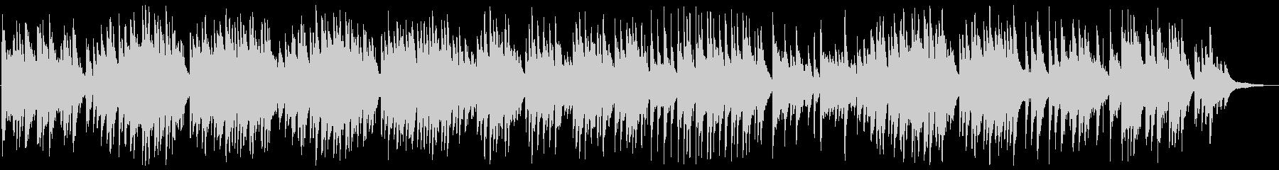 美しくも切ないピアノバラードの未再生の波形