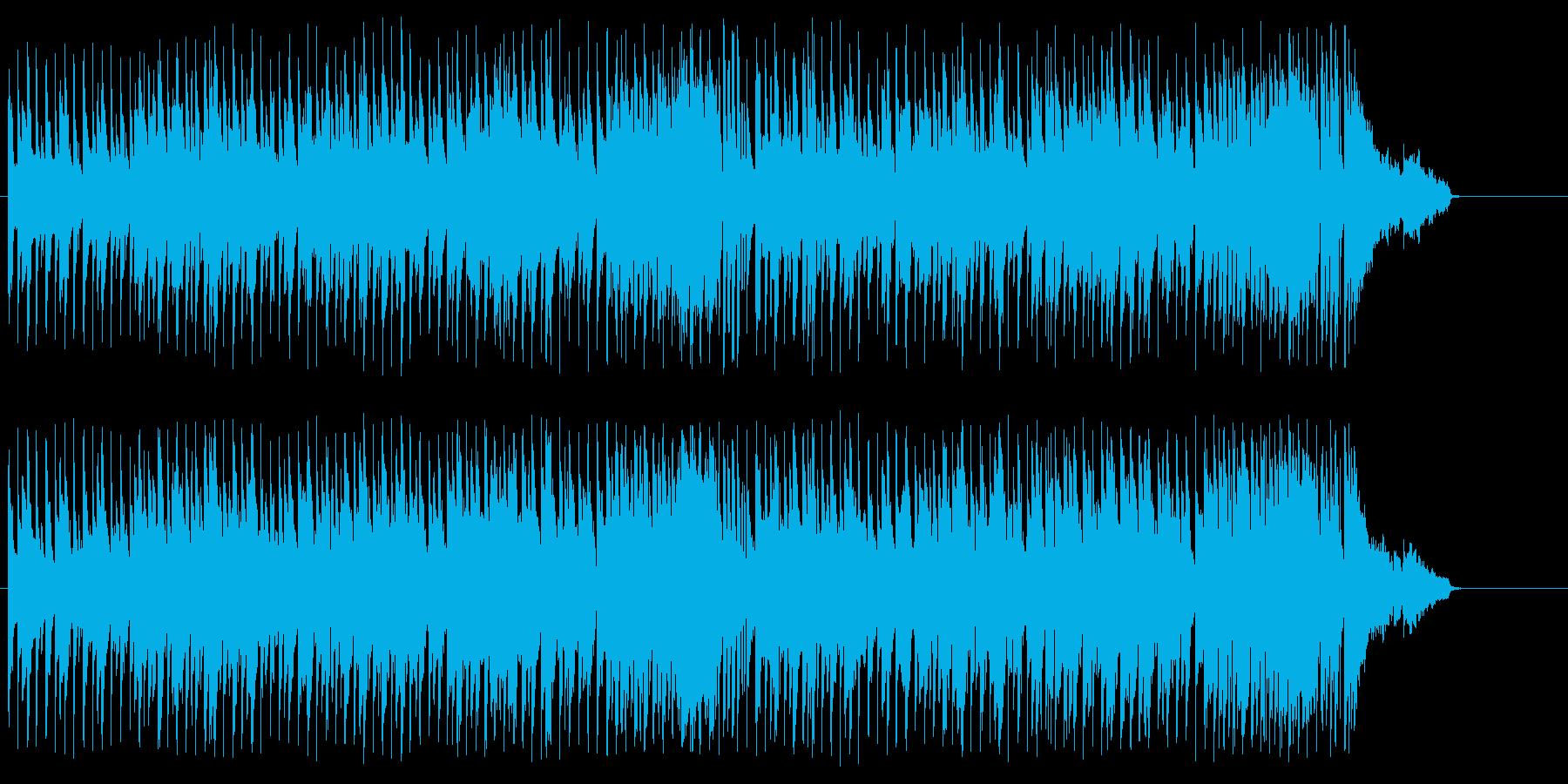 退屈な午後の囁き、ティーブレイクの再生済みの波形